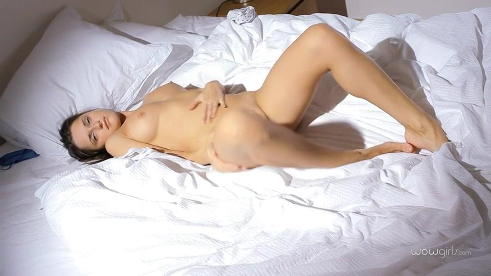sensuele striptease en zwoele masturbatie