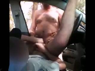 Gay, anaal op de homoparkeerplaats
